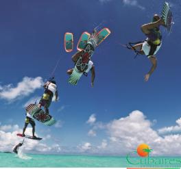Kitesurf en Cayo Guillermo